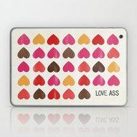 LOVE ASS Laptop & iPad Skin