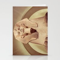 Great Sphinx of Tanis Stationery Cards