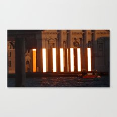 Worship the golden towers Canvas Print