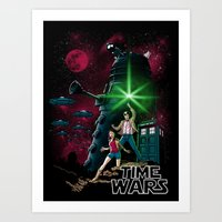 Time Wars Art Print