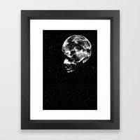 Midnight Moon Framed Art Print