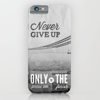 Never Give Up. iPhone 6 Slim Case
