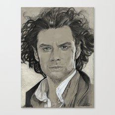 Aidan Turner: Poldark Canvas Print