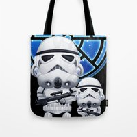 Lil Stormtroopers Tote Bag