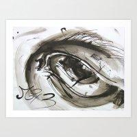 Time's Eye Art Print