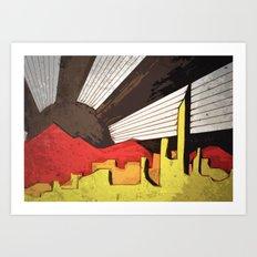 Dark Day Art Print