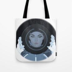 Siren / Tron: Legacy Tote Bag