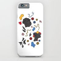 doodle conversation iPhone 6 Slim Case