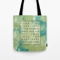 Awake My Soul II Tote Bag