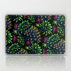 Cactus Floral - Bright Green/Pink Laptop & iPad Skin