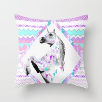 ▲TWIN SHADOW ▲by Vas… Throw Pillow