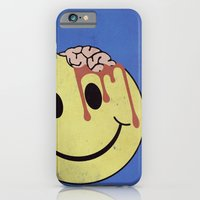 iPhone & iPod Case featuring Don't worry. Be eaten. by John Medbury (LAZY J Studios)
