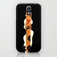 Galaxy S4 Cases featuring That's How She Rolls by Torso Vertical, Illustration and Design