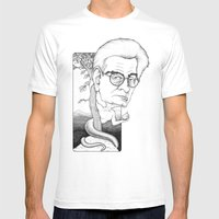 Jacques Lacan Mens Fitted Tee White SMALL