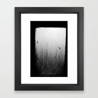 Away From Sure Framed Art Print
