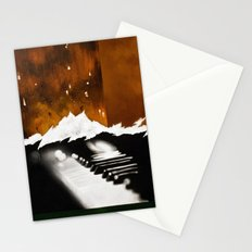 Music Triptych: Piano Stationery Cards