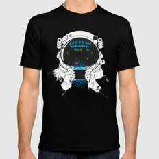 Gamernauts Mens Fitted Tee SMALL Black