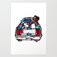 Classic BS  Art Print