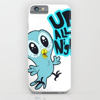iPhone & iPod Case featuring Up All Night!  by derekpants