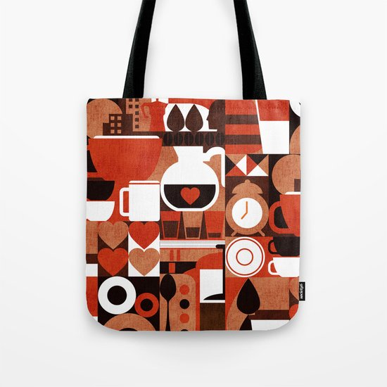 Coffee Story Tote Bag