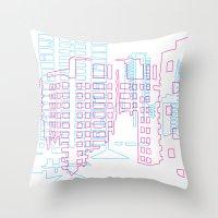 Interurban Throw Pillow