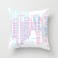 Interurban Throw Pillow