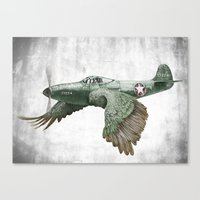 In Which It's A Bird. It… Canvas Print