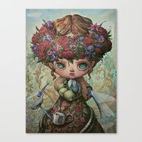 The Garden Queen Canvas Print