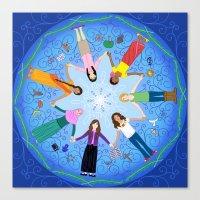 Plea for Peace Canvas Print