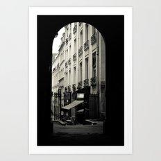 Parisian Doorway Art Print