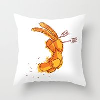 On the Winning Side Throw Pillow