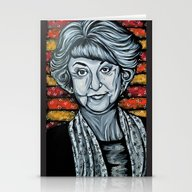 Stationery Cards featuring Bea Arthur  by Portraits On The Per…