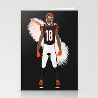 Who Dey? - A.J. Green Stationery Cards