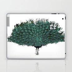 Peacock -blue Laptop & iPad Skin