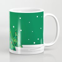Vector Christmas Tree Mug