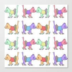 Kittens.  Canvas Print