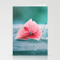 HYDRANGEA LOVE Stationery Cards