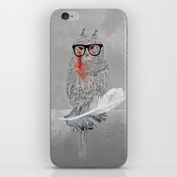 Owl a part of your dream! iPhone & iPod Skin
