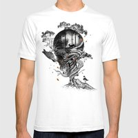 Lost Translation Mens Fitted Tee White SMALL