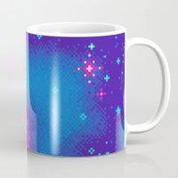 Indigo Nebula (8bit) Mug