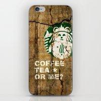 Gingerbucks Or Me? iPhone & iPod Skin