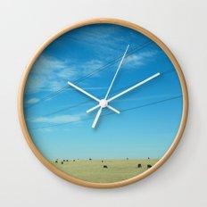 South Dakota Cows Wall Clock
