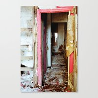 Not Home Canvas Print