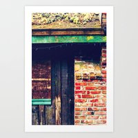 The Holiday Remains Art Print