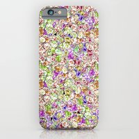 iPhone Cases featuring Roses Pattern by MUSENYO