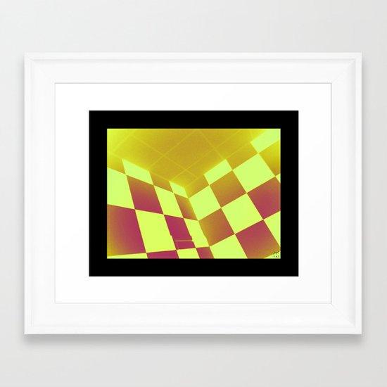 chess Framed Art Print