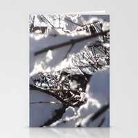 Glitter Reeds Stationery Cards