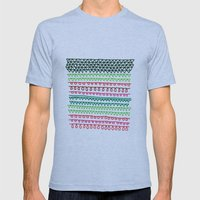Pattern 1 Mens Fitted Tee Athletic Blue SMALL