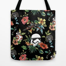 The Floral Awakens Tote Bag