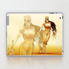 Yellow Ranger Laptop & iPad Skin